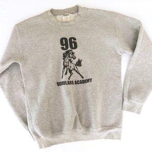 Other - Vintage 90s Scholars Academy Pullover Crewneck